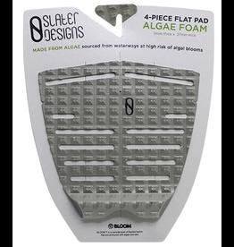Slater Design Slater 4 Piece Flat Traction Pad Grey/Black