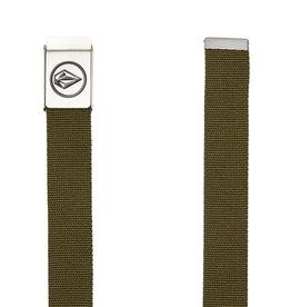 Volcom Volcom Circle Web Belt Military