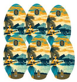 Skim One Skimone Skimboard 90cm Tahiti Blue Orange