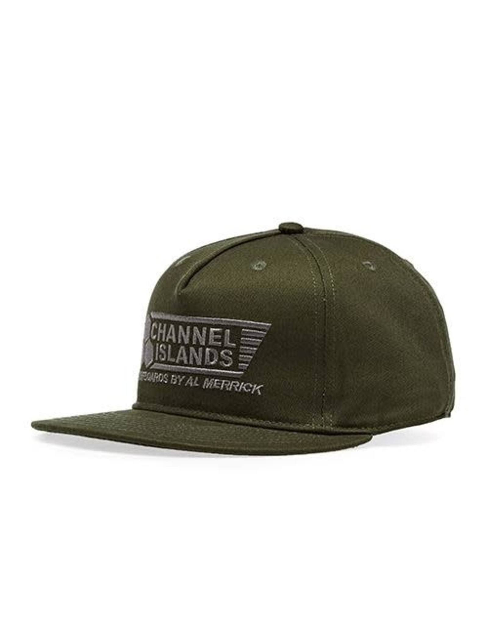 Channel Island Channel Island Cap Flag Snapback Military Green