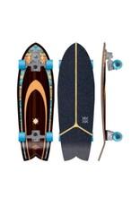 Kruuze Flying Wheels Surf Skateboard 32 Solana Navajo Lombard Surfskate