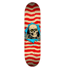 Powell Peralta Powell Peralta Ripper 8.5 Skateboard Deck Shape 244 Natural/Red