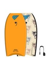 Flood FLOOD 40 Bodyboard Dynamx Stringer Orange Palm