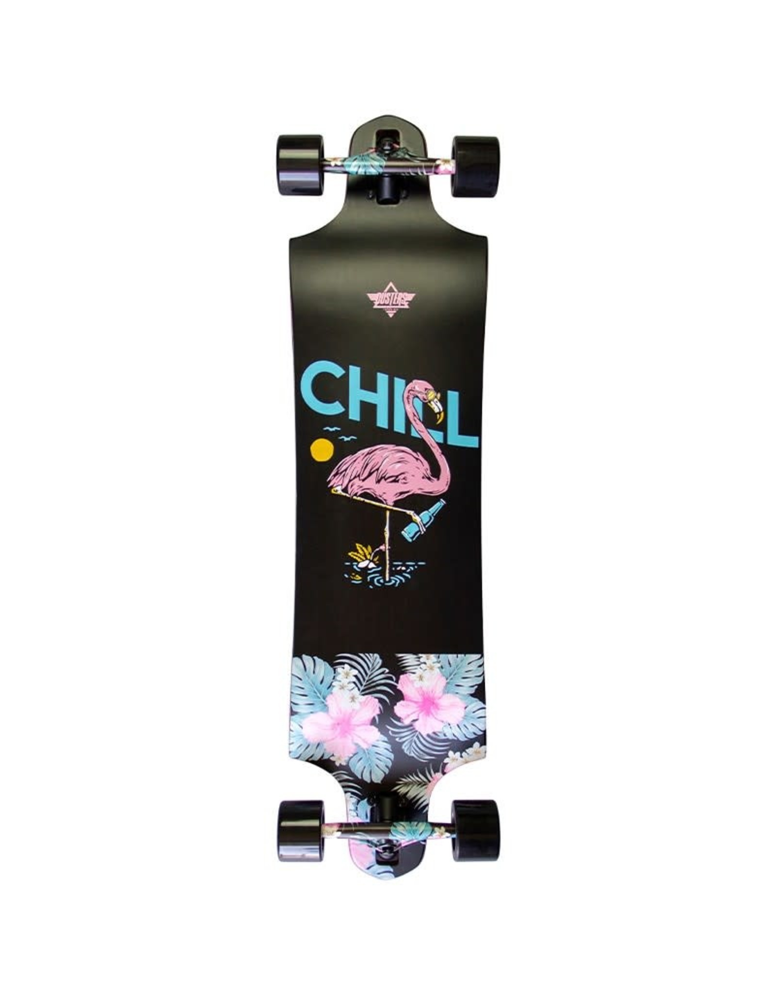 Dusters Dusters 38.0 Chill Complete Longboard Black