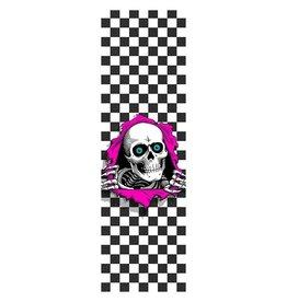 Powell Peralta Powell Peralta Ripper Checkers White Griptape Sheet 10.5