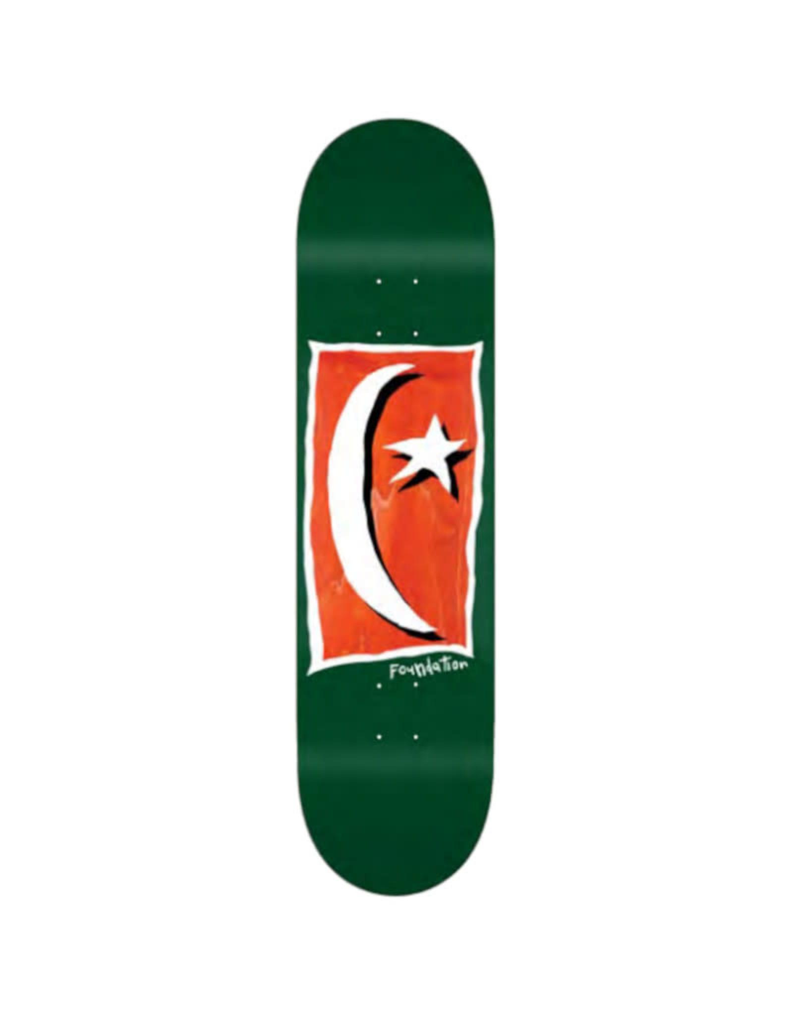 Toy Machine Skateboards FOUNDATION 8.125 STAR & MOON V2 GREEN