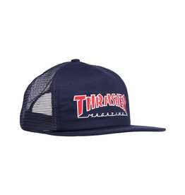 Thrasher THRASHER NEW OUTLINED EMBROIDERED MESH CAP NAVY OS