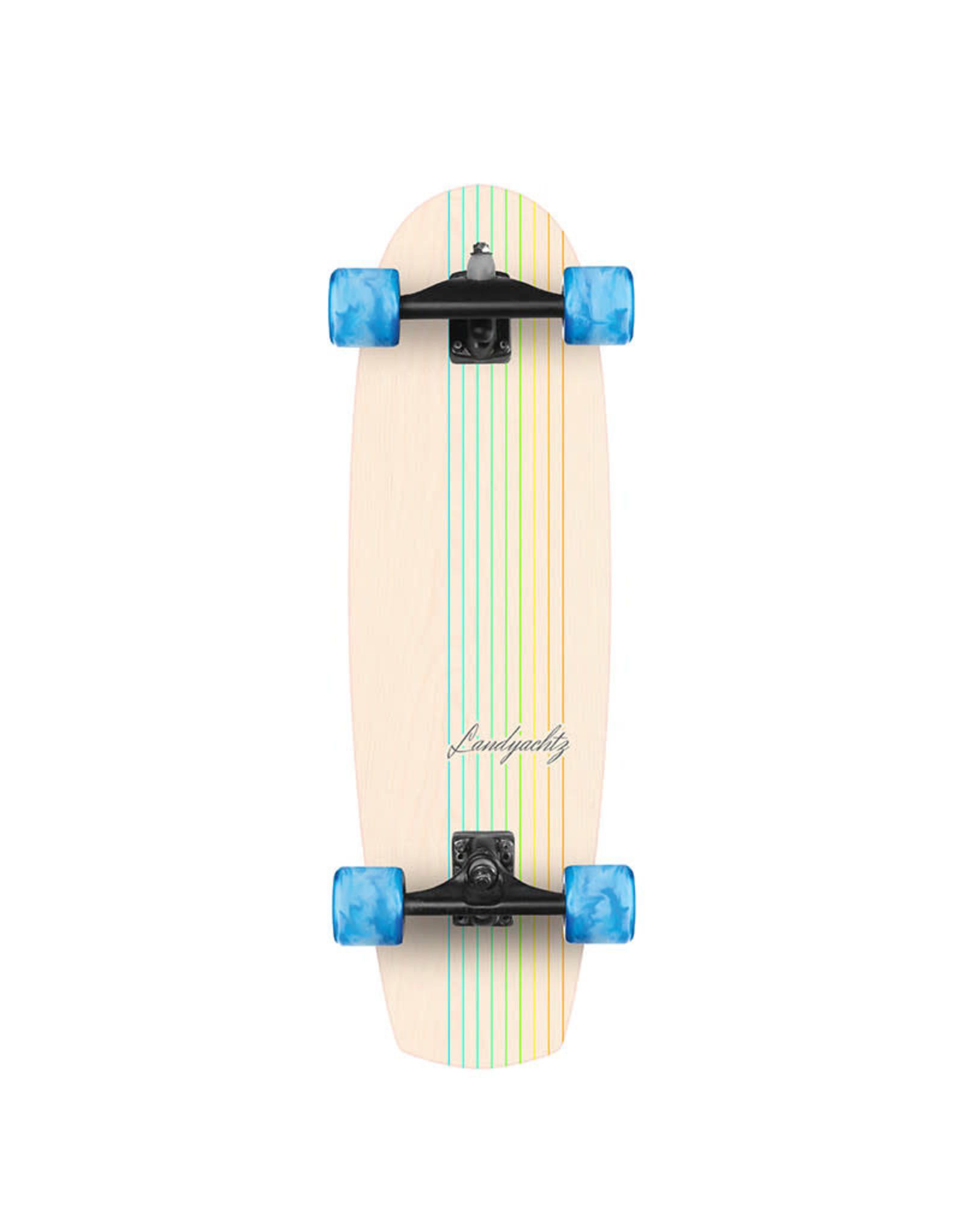 """Landyachtz Landyachtz Butter White Oak Lines 31"""" Surfskate Complete"""