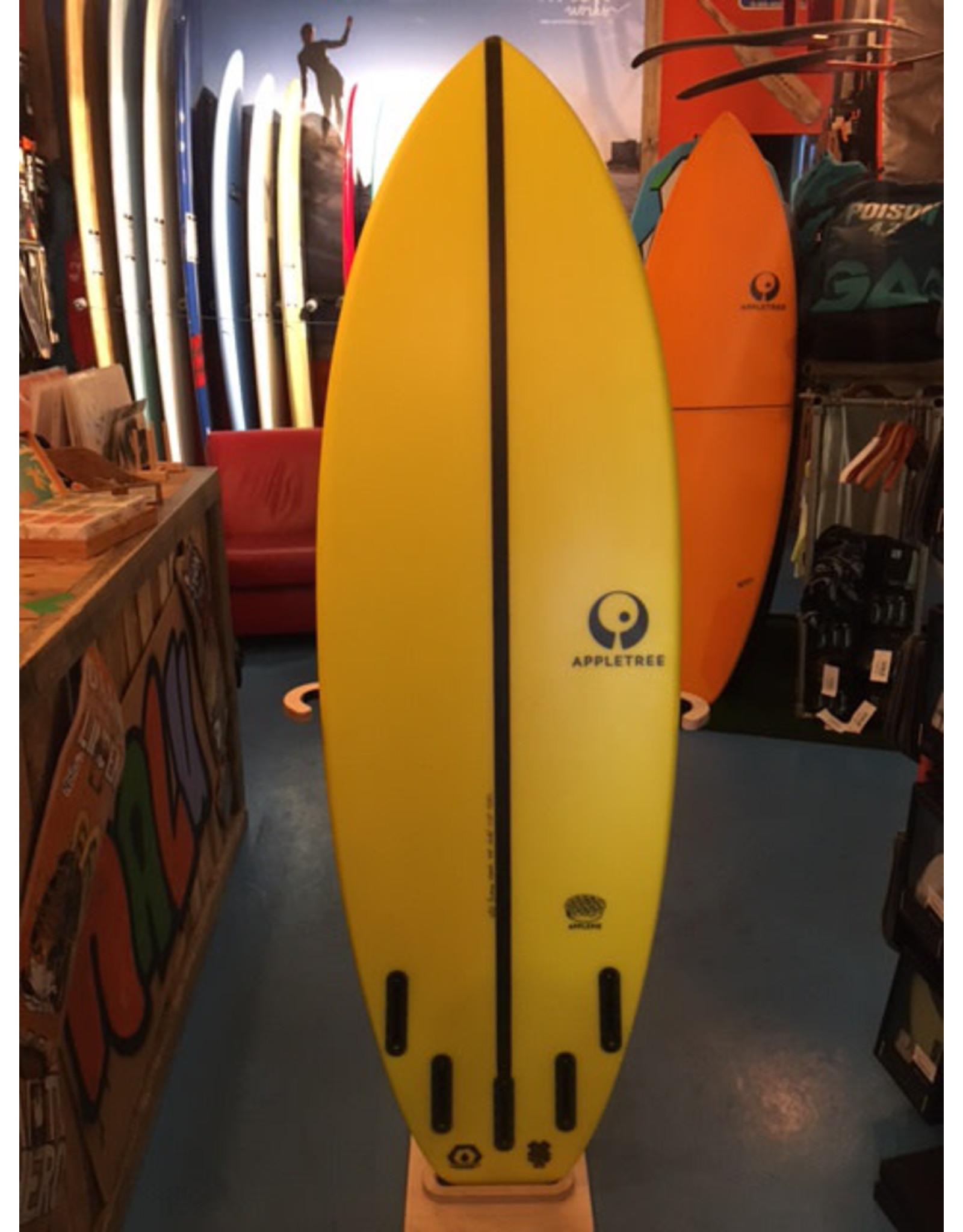 "Appletree Surfboards Appletree 5.9""  Applepie V2 Yellow"
