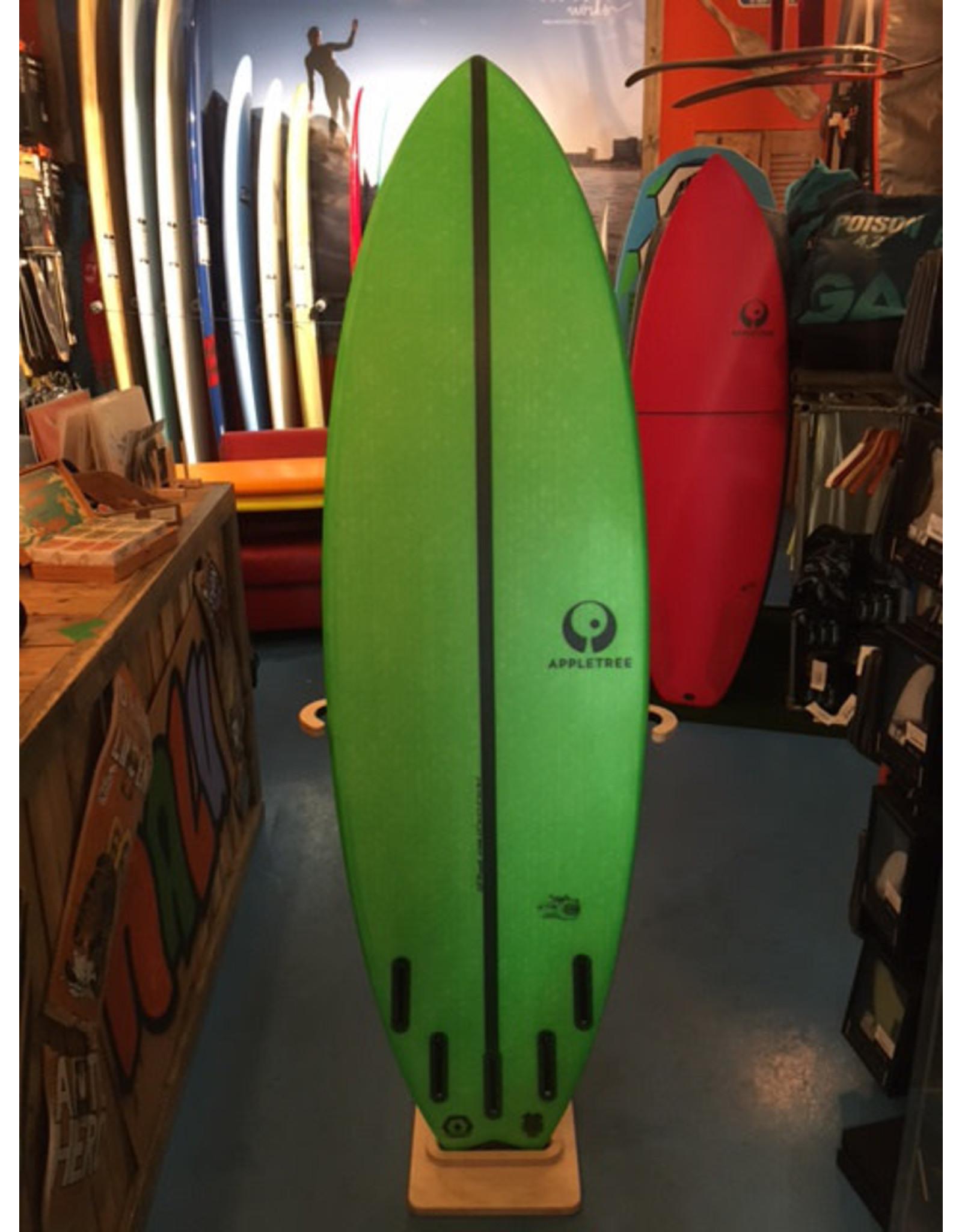 """Appletree Surfboards Appletree 6.0"""" Elstar Green"""