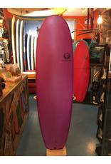 """Appletree Surfboards Appletree 6'4""""  Big Apple Aubergine"""