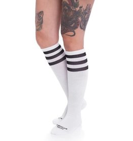 American Socks American Socks Old School Knee High Black-White