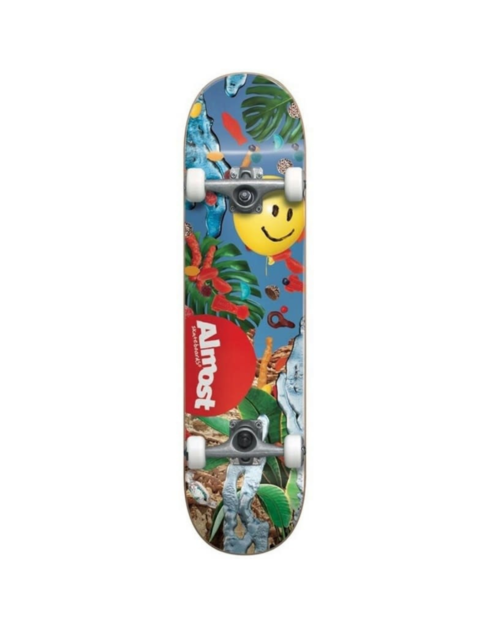 Almost Almost 8.125 Twenty 20 First Push Complete Skateboard Multi