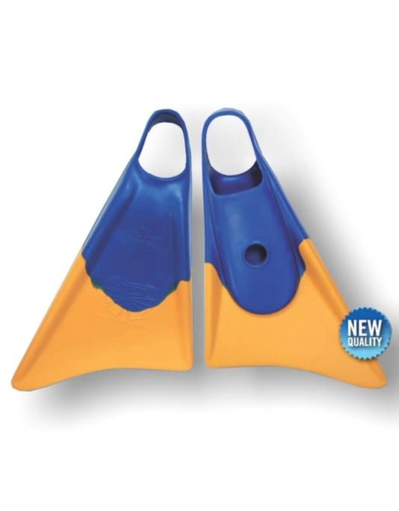 Churchill Bodyboard Fins Churchill Makapuu XL 47-49 Blue