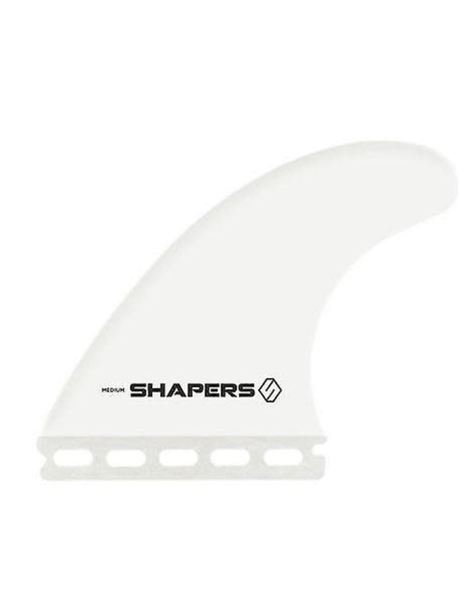 Shapers Shapers Fiberflex Thruster Futures Fin Set Large