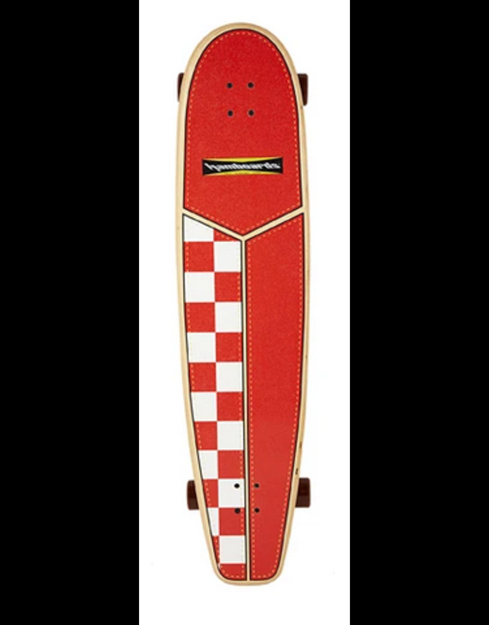 "Hamboards Hamboards 45"" HHOP Carving SurfskatesOW  Chekkers"