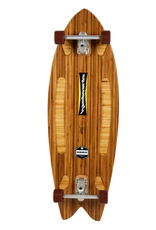 "Hamboards Hamboards Pescadito Surfskate Bamboo 43"" HST200"