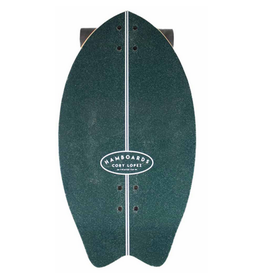 """Hamboards Hamboards 29"""" Twisted Fin Surfskate Cory Lopez Dark Teal"""