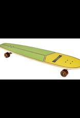 "Hamboards Hamboards 45"" HHOP Cruising Longboards Seaweed Cream"