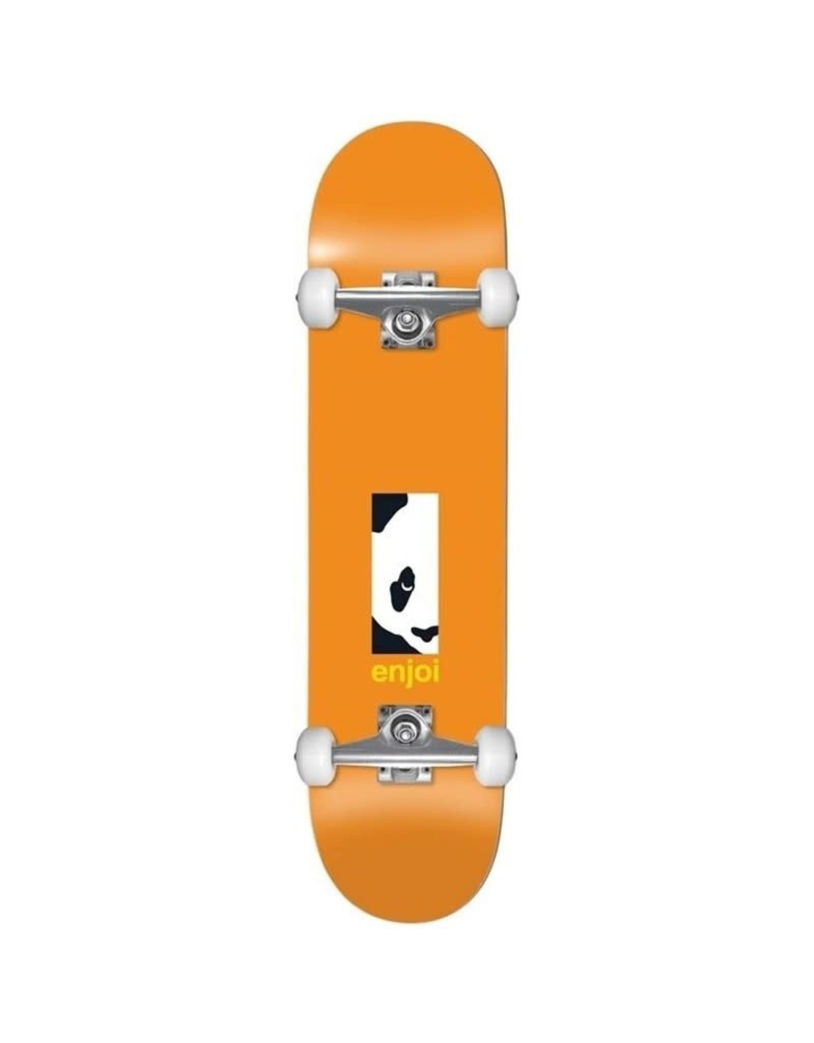 Enjoi Enjoi 8.125 Box Panda First Push Complete Skateboard Orange
