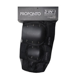 Proponto Proponto Kids 3 in 1 Protection Pads Black