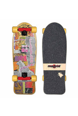"Madrid Madrid 30.375"" Elguerra Old School Skateboard Complete"