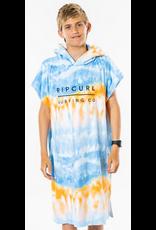 Rip Curl Rip Curl Hooded Print Towel Kids Blue / White