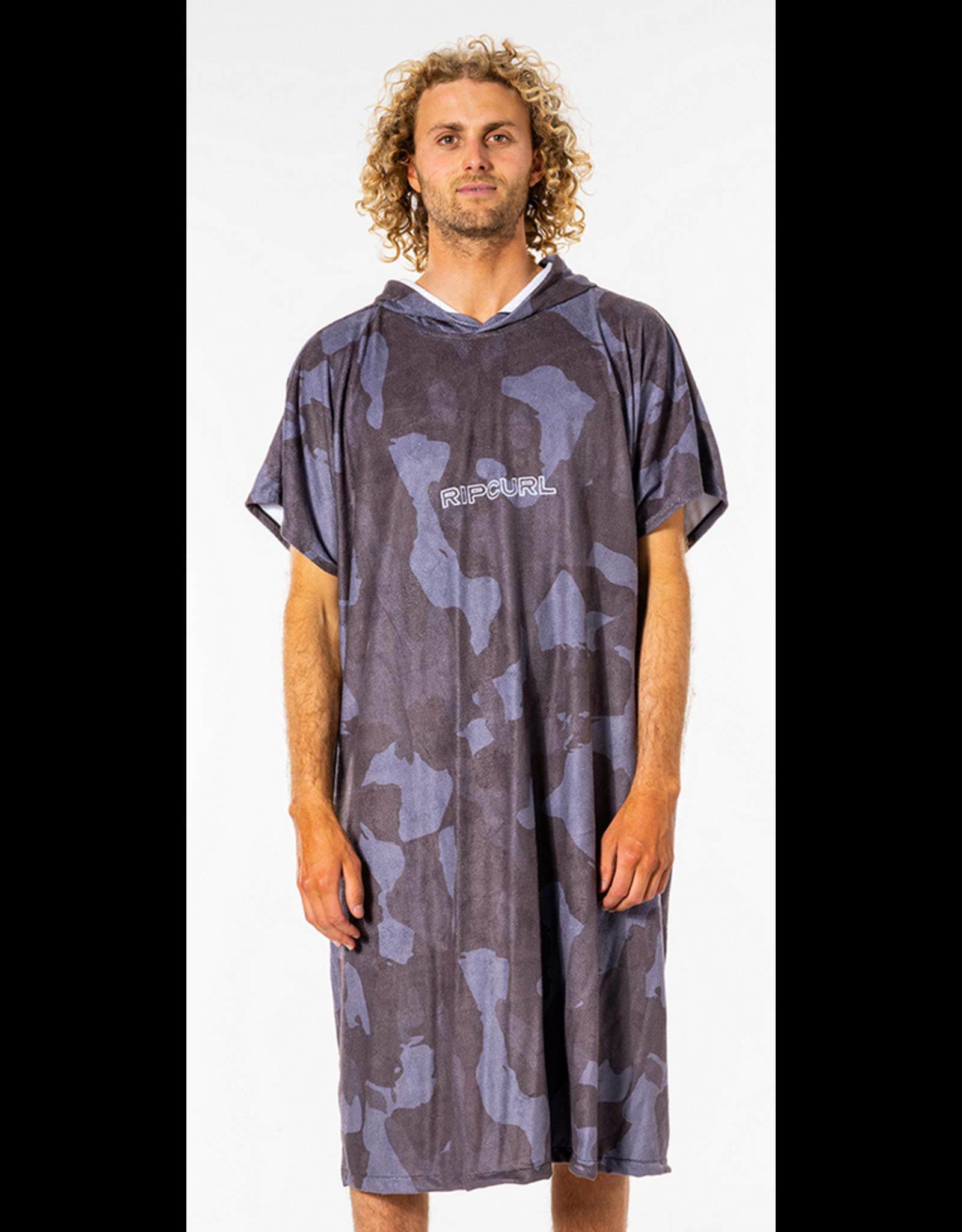 Rip Curl Rip Curl Mix Up Print Hooded Towel Slate