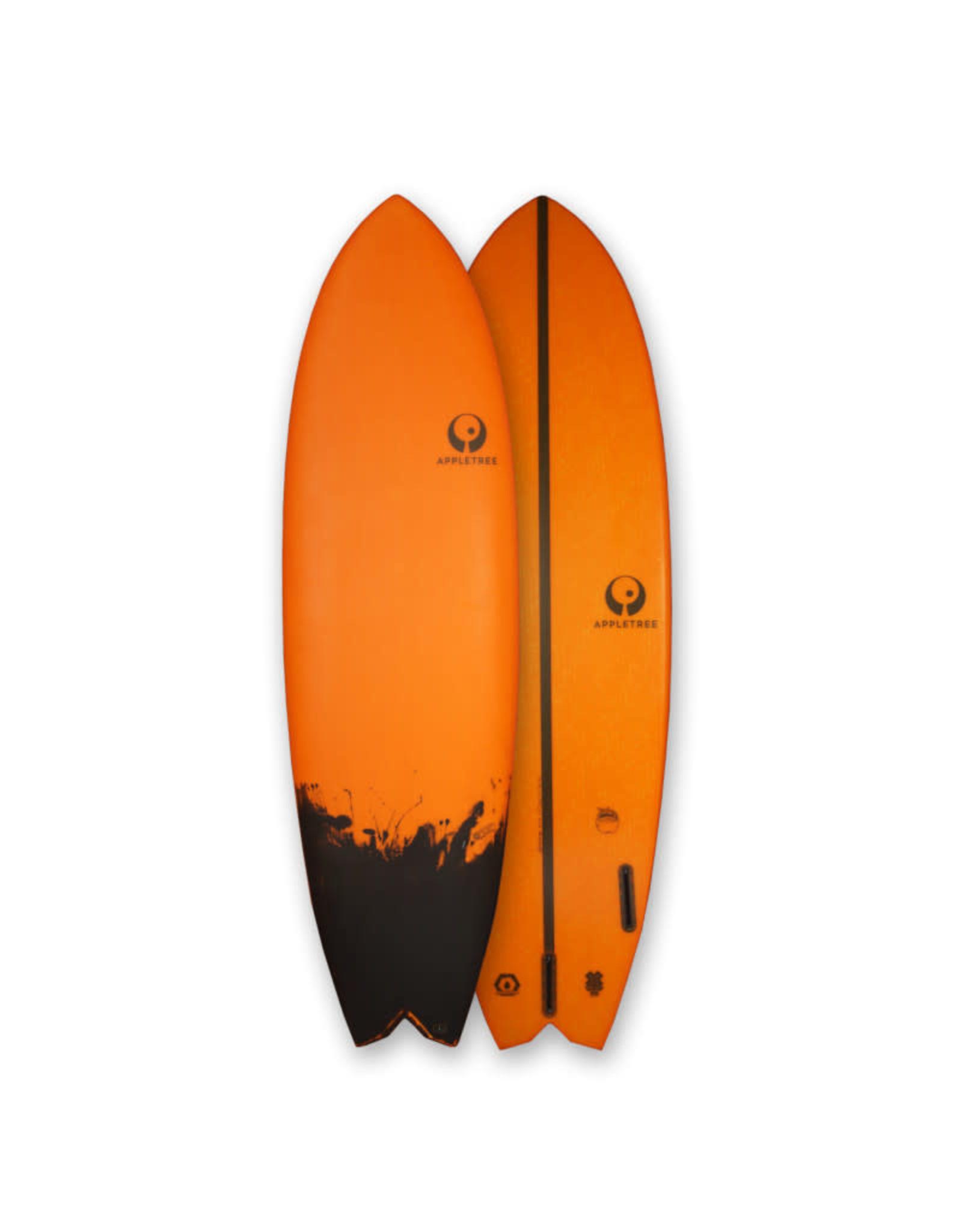 "Appletree Surfboards Appletree 6'2"" Jonagold Fish Orange"