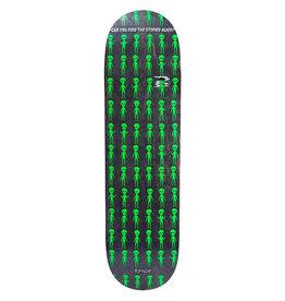 RIPNDIP RIPNDIP Stoned Again Skateboard Deck Black 8.25