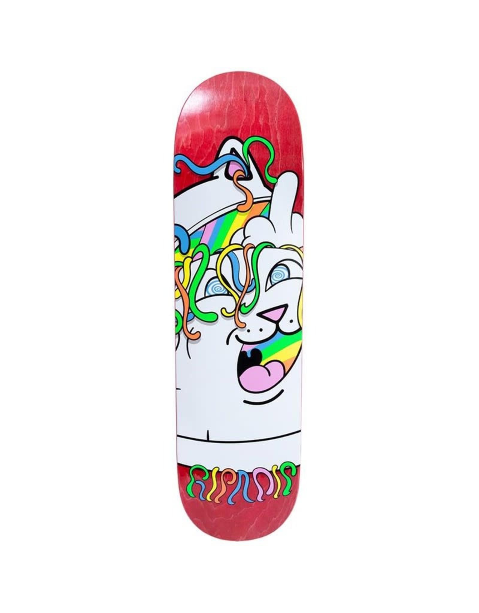 RIPNDIP RIPNDIP 8.25 Acid Playdo Skateboard Deck Red