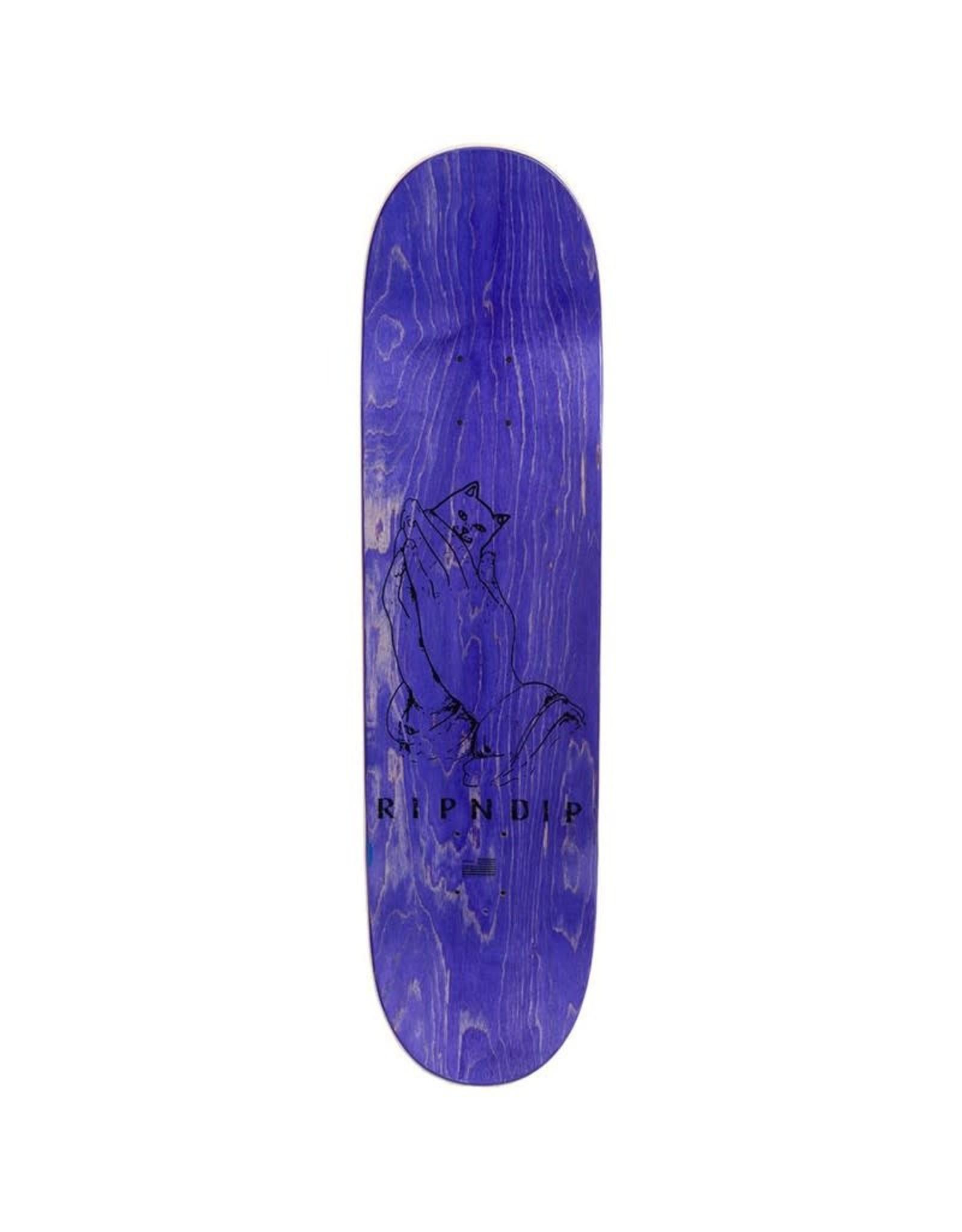 RIPNDIP RIPNDIP 8.0 Lord Nermal Skateboard Deck Orange
