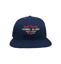 Channel Island Channel Island Surf Shop Twill Indigo Cap