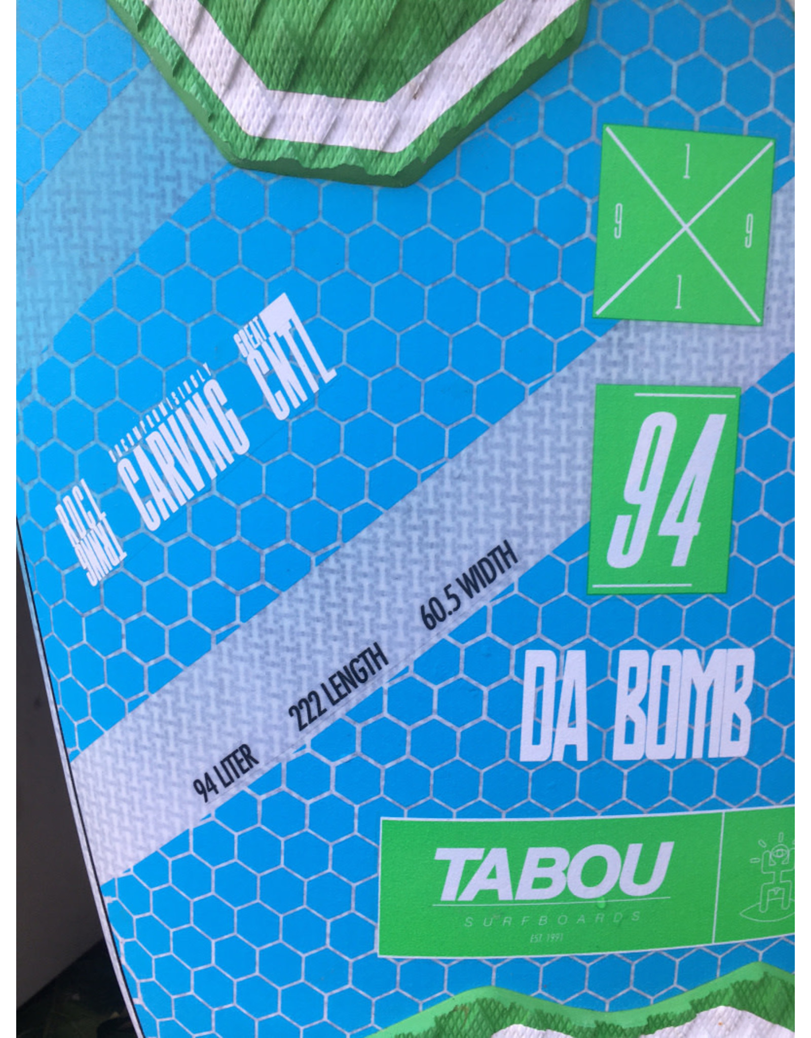 Tabou Tabou Da Bomb 2020 94 Liter Gebruikt