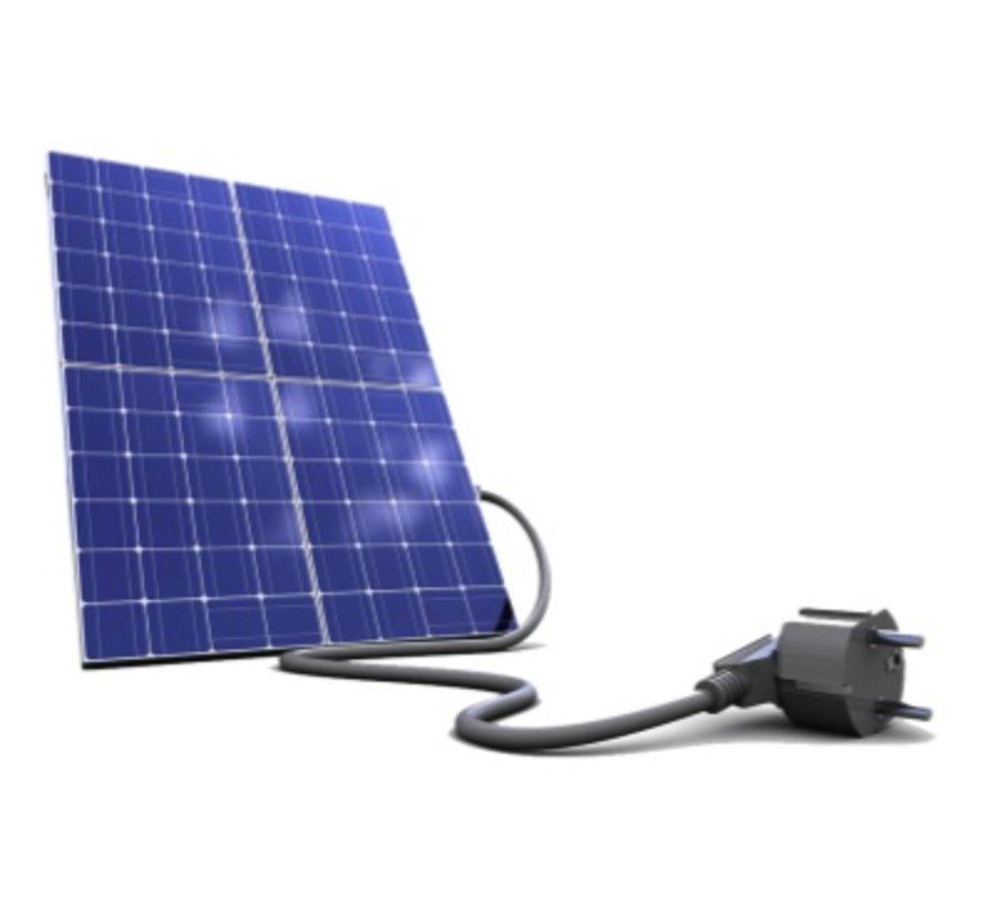 Micro kit met 4 super panelen van 280 Wp of meer dan 1 k Watt met APS omvormers