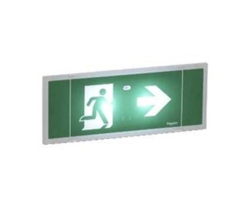 LED noodverlichting niet permanent IP42 70Lm 1u