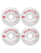 PRIMITIVE PENNANT ARCH TEAM WHEEL, RED, 50mm