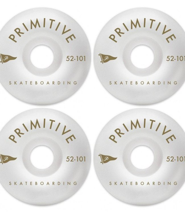 PRIMITIVE PENNANT ARCH TEAM WHEEL, GOLD, 52mm