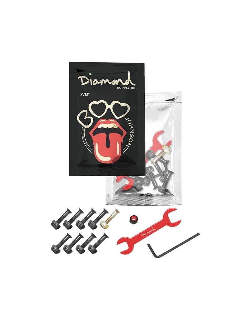 "DIAMOND BOO JOHNSON PRO HARDWARE 7/8"" - BLACK"