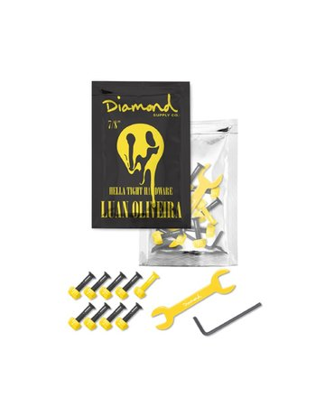 "DIAMOND LUAN OLIVEIRA PRO HARDWARE 7/8"" - BLACK"
