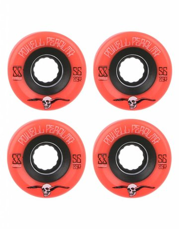 BONES PP G-SLIDES RED 56MM