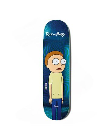 PRIMITIVE RIBEIRO MORTY DECK D2, BLUE 8.0