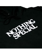 NOTHING SPECIAL NOTHING SPECIAL, N.S. FOUNDATION PULL OVER HOODY, BLACK