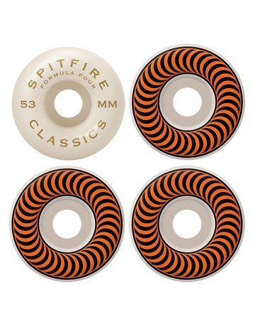 SPITFIRE F4 101 CLASSIC ORANGE 53MM
