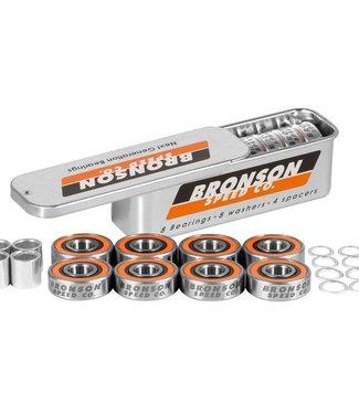 BRONSON SPEED CO. G3 Bearings - Orange/Silver