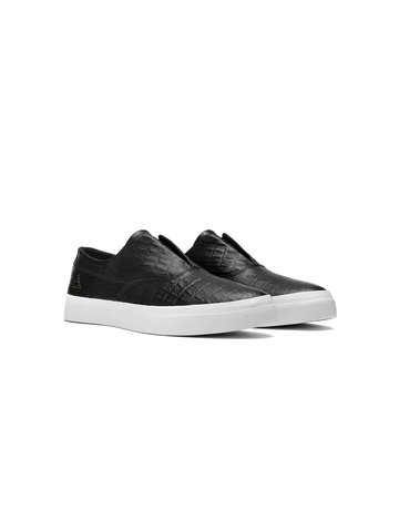 HUF DYLAN SLIP ON - BLACK