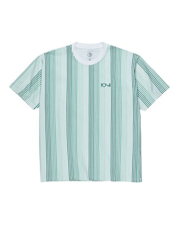 POLAR MULTI COLOUR TEE - WHITE/GREEN