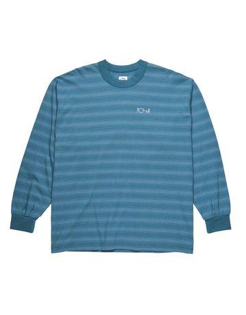 POLAR GRADIENT LONGSLEEVE - GREY BLUE