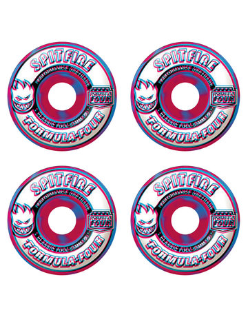 SPITFIRE FORMULA FOUR CLASSIC FULL OVERLAY SWIRLS PINK/BLUE 53MM 99A