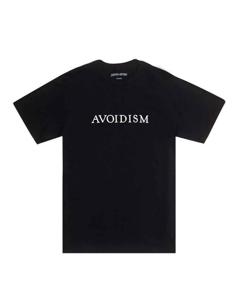 FUCKING AWESOME AVOIDISM TEE - BLACK